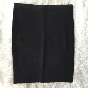 Black Pencil Body Con Stretchy 50's Wiggle Skirt